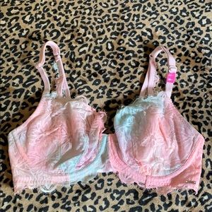 Pink Victoria's Secret unlined underwire bra